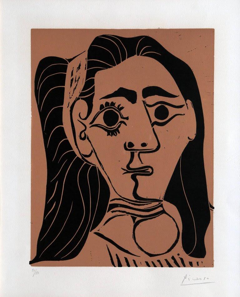 Jacqueline au Bandeau by Picasso