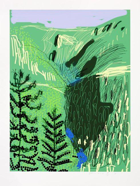 Yosemite, The Yosemite Suite by David Hockney