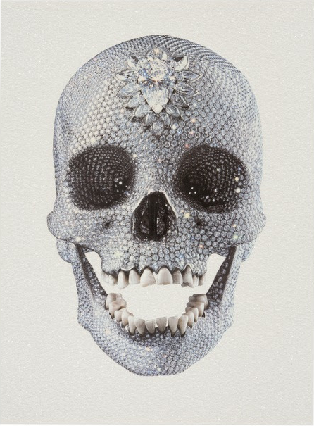 For the Love of God (White) by Damien Hirst