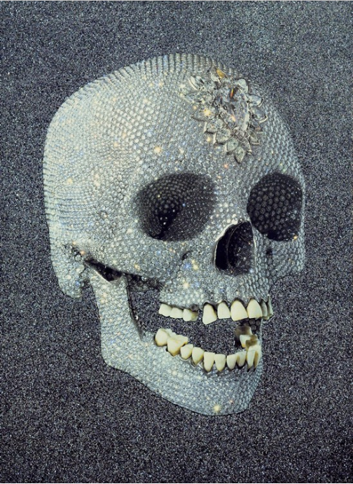 For The Love You God, Laugh by Damien Hirst