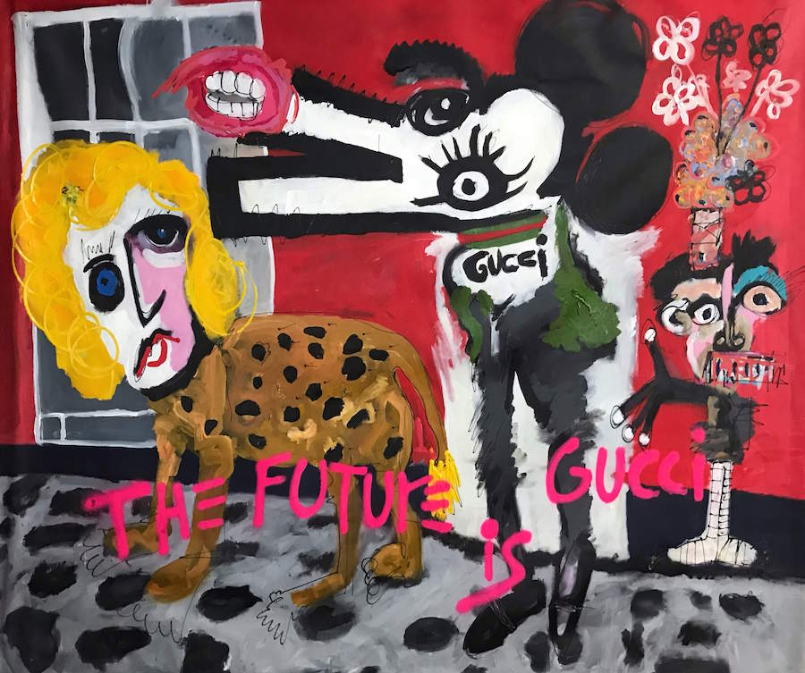 Gucci and Friends by John Paul Fauves
