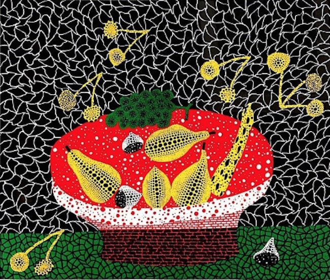 Fruits, 1984 by Yayoi Kusama