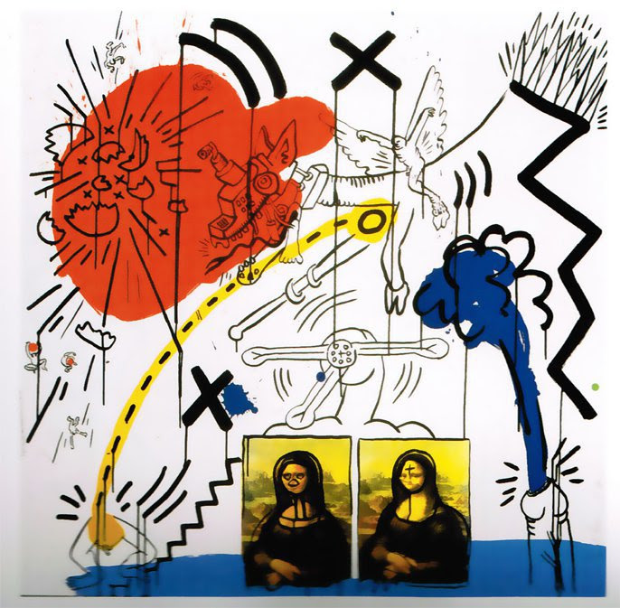 Apocalypse 2 by Keith Haring