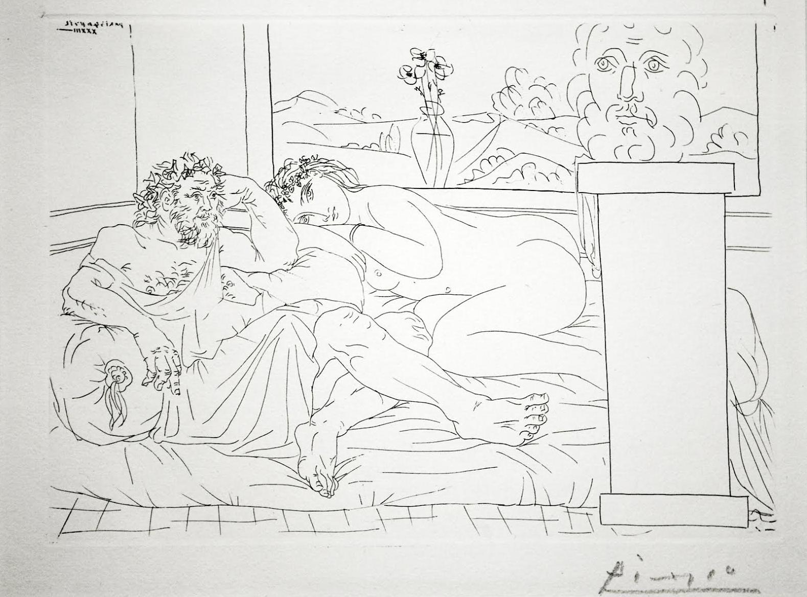 Le Repos du Sculpteur by Picasso