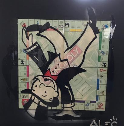 Cartwheel Monopoly by Alec Monopoly