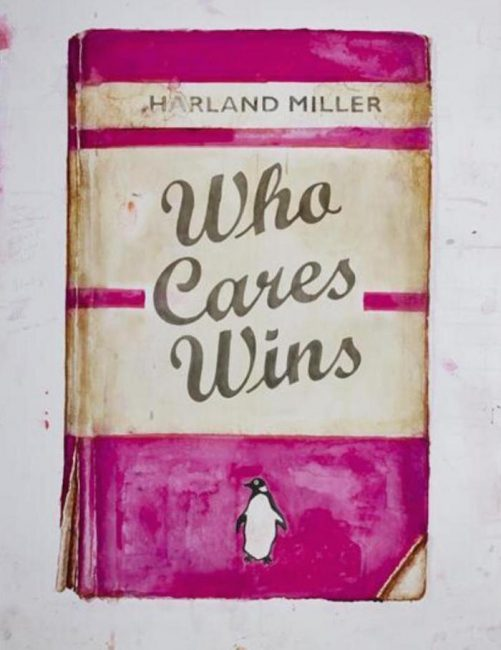 Harland Miller Who Cares Wins Pink