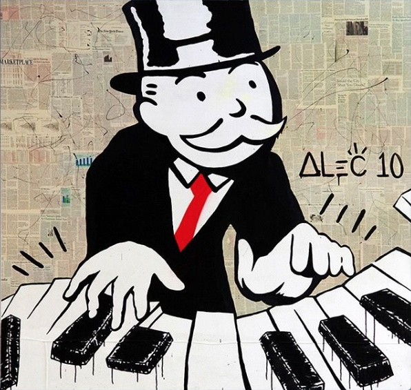 Piano Man by Alec Monopoly