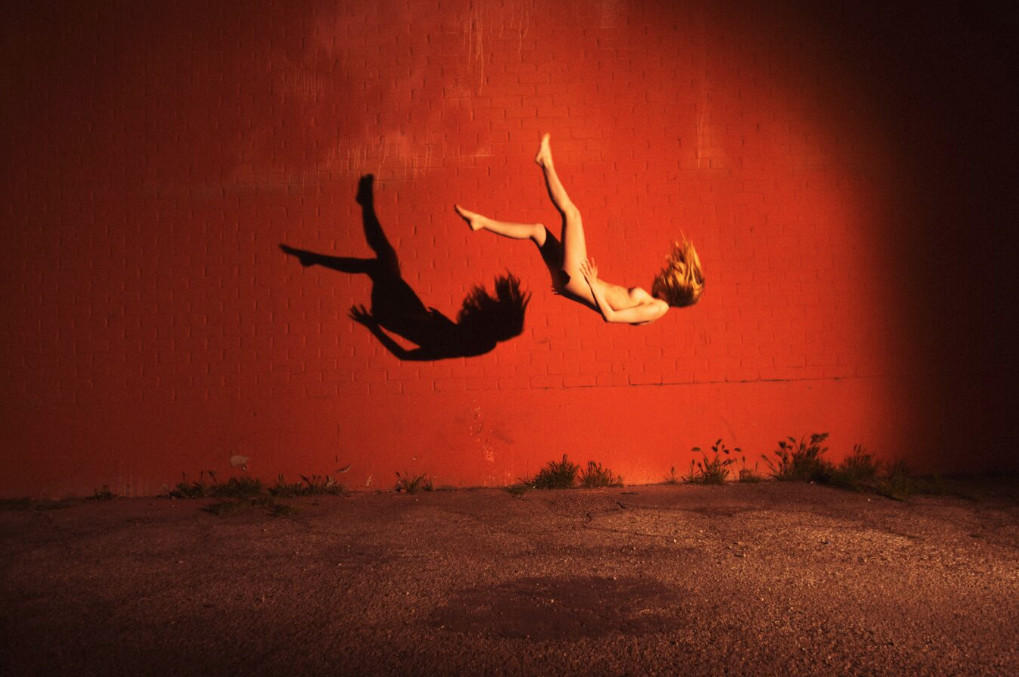Red Wall by Tyler Shields