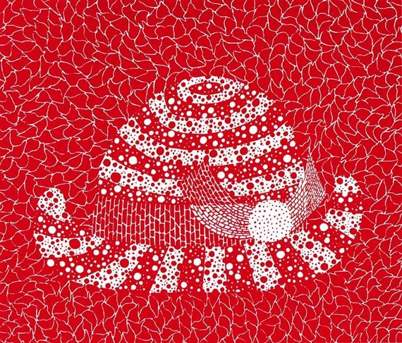 Red Hat by Yayoi Kusama