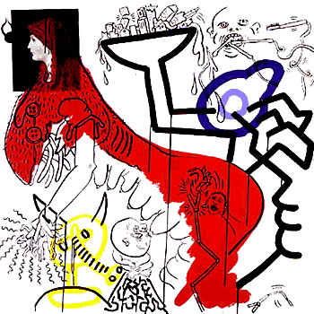 Apocalypse 4 by Keith Haring