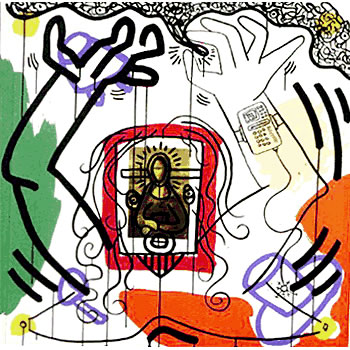 Apocalypse 6 by Keith Haring