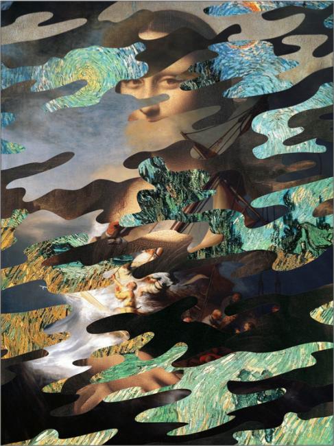Camo (De Vinci, Van Gogh and Rembrandt) by Dan Alva