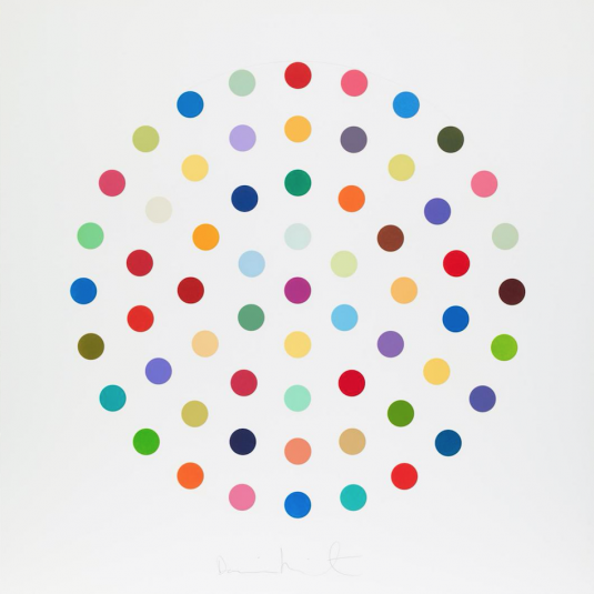 Spots By Damien Hirst Guy Hepner Art Gallery Prints For Sale Chelsea New York City