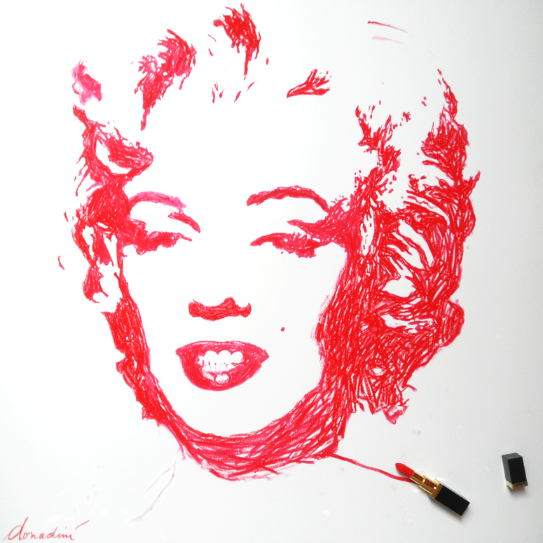 Lipstick Marilyn by Jean Paul Donadini