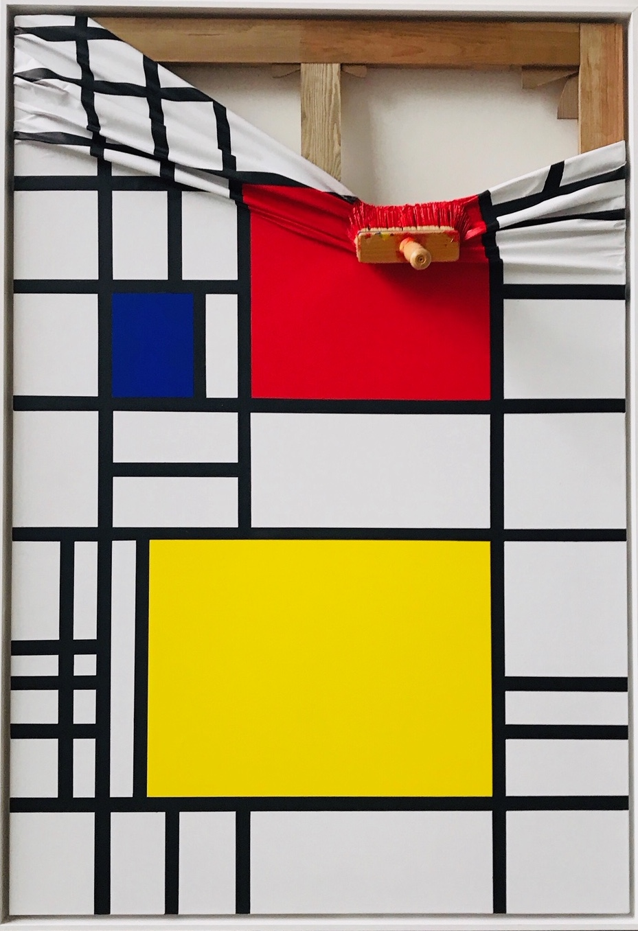 Mondrian Rouge by Jean Paul Donadini