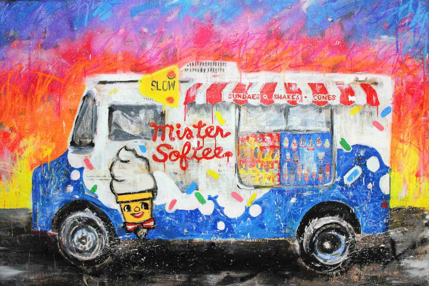 Mr. Softee by Jojo Anavim