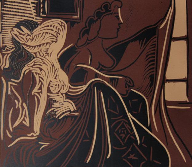 Deux Femmes Prés de la Fenêtre by Picasso