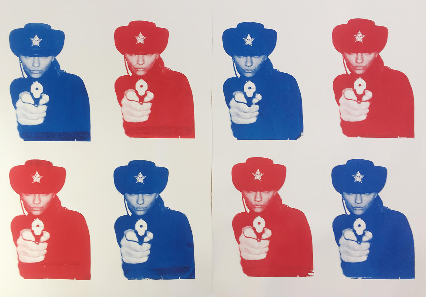 Sheriffs Red/Blue by Chris Heads