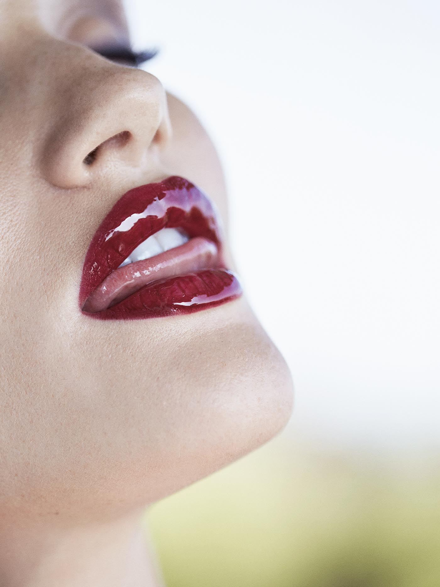 Rosie's Red Lips by Russell James