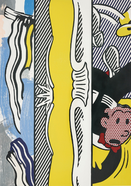 Two Paintings Dagwood by Roy Lichtenstein
