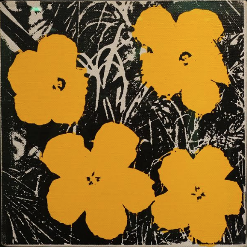 Flowers Yellow by Andy Warhol