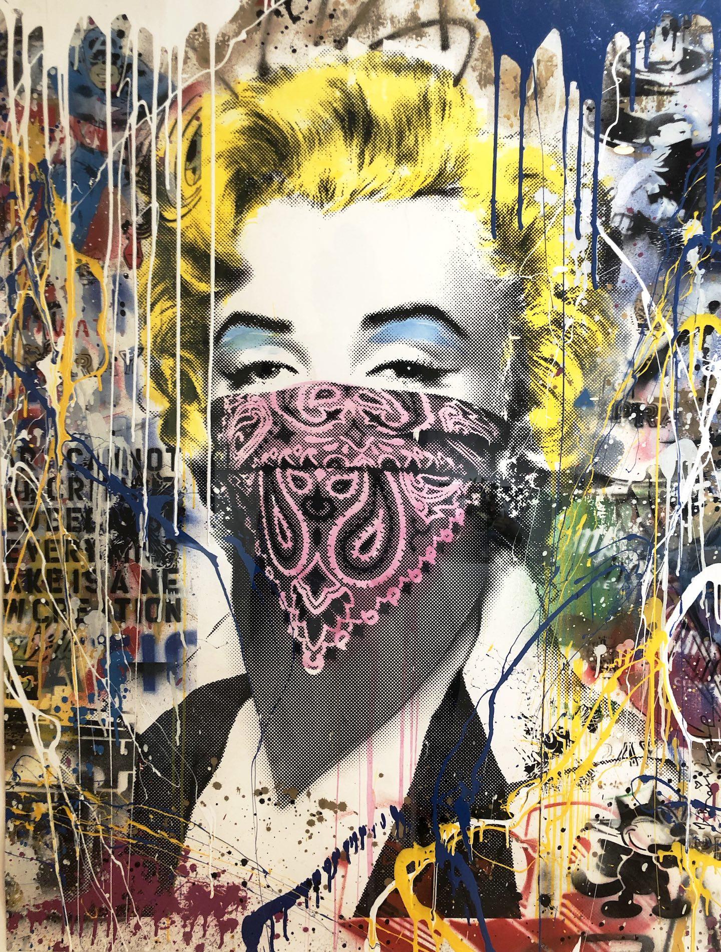 Marilyn by Mr. Brainwash copy