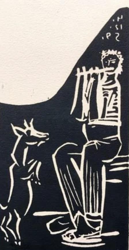 Faune et Chevre by Picasso