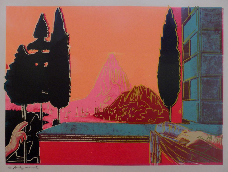 Annunciation F.S. II 320 by Andy Warhol