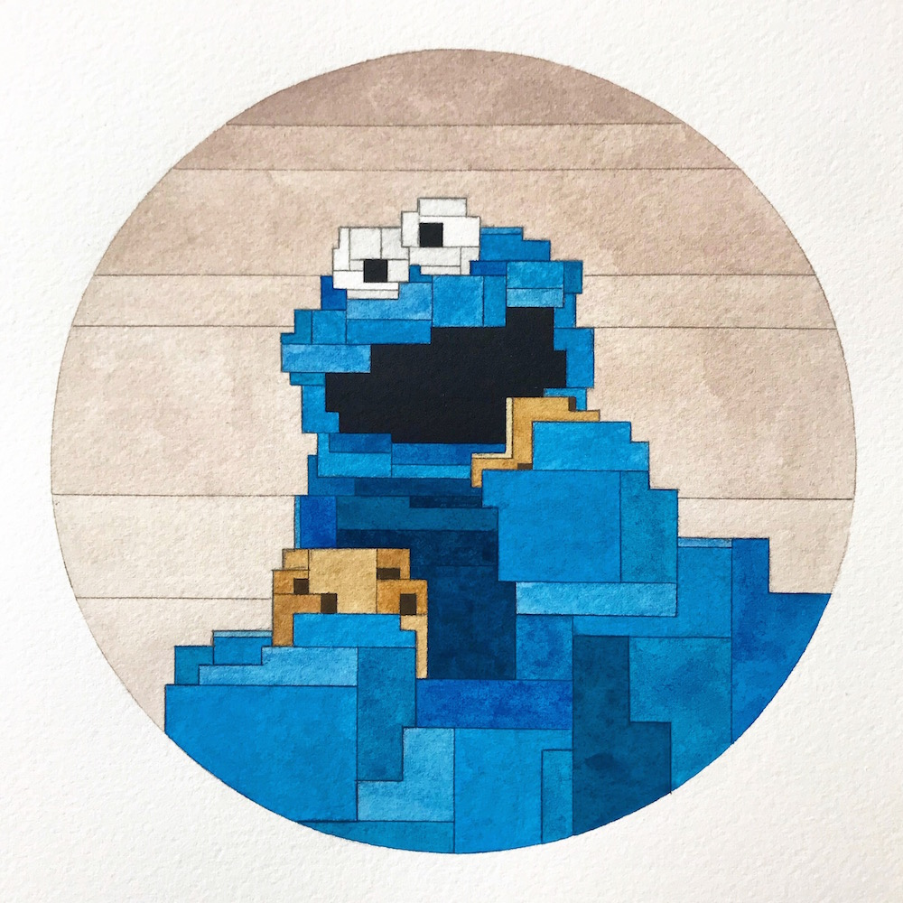 Cookie Monster by Adam Lister