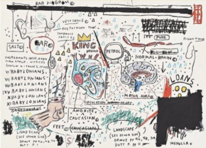 King Brand by Jean-Michel Basquiat