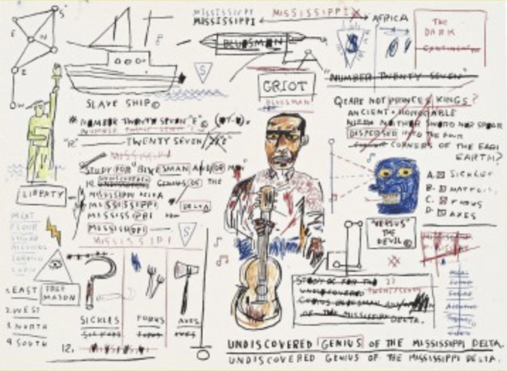 Undiscovered Genius by Jean-Michel Basquiat