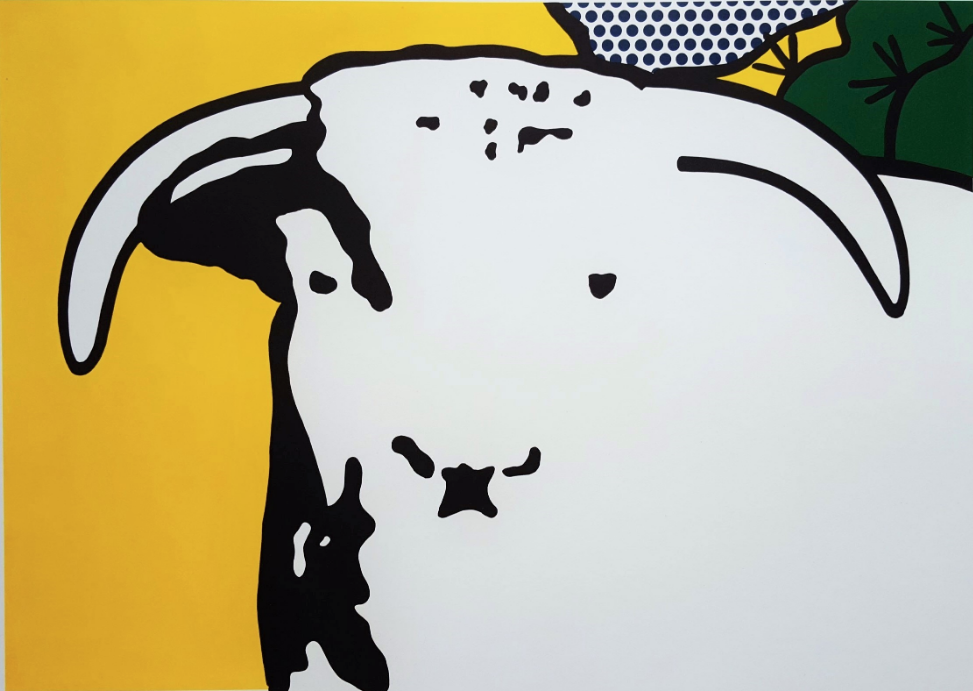 Bull Head I by Roy Lichtenstein