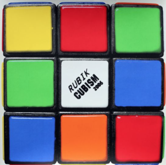 Rubik Cubism by Invader