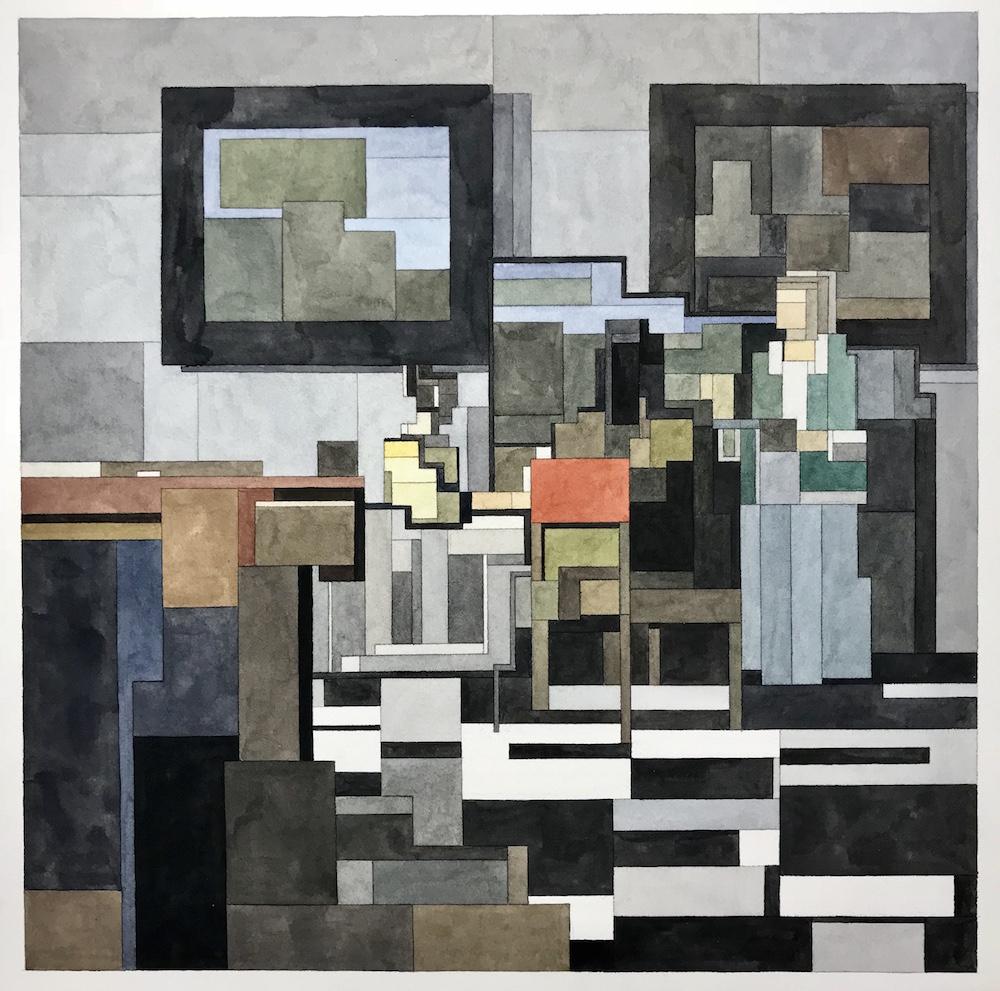 Vermeer's The Concert by Adam Lister
