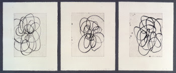 Untitled Etchings by Christopher Wool