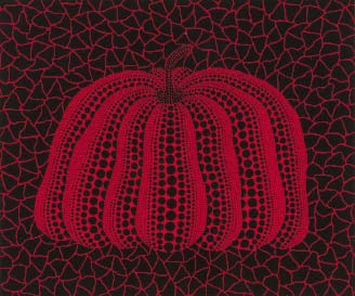 A Pumpkin RB-B by Yayoi Kusama