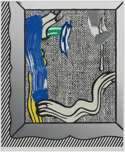 Painting On Canvas by Roy Lichtenstein