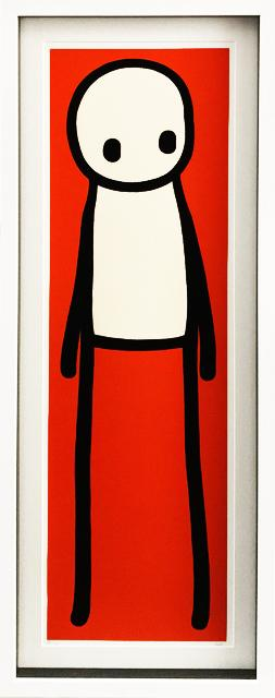 Book (Poster Deluxe Red) by STIK