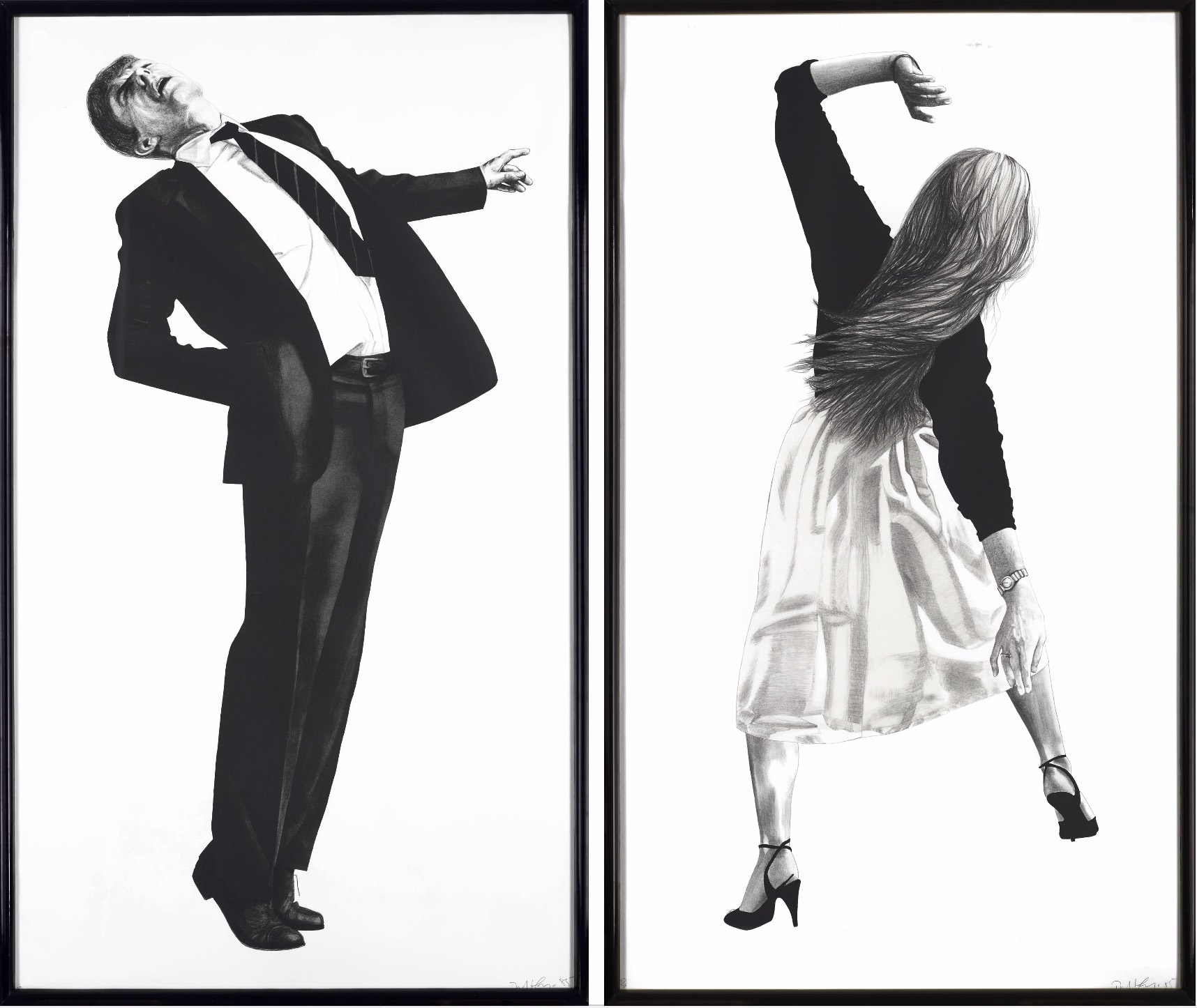 Anne & Edmund, 1985 by Robert Longo