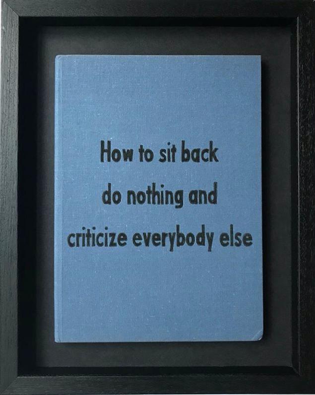 Criticize Everybody Else by Johan Deckmann