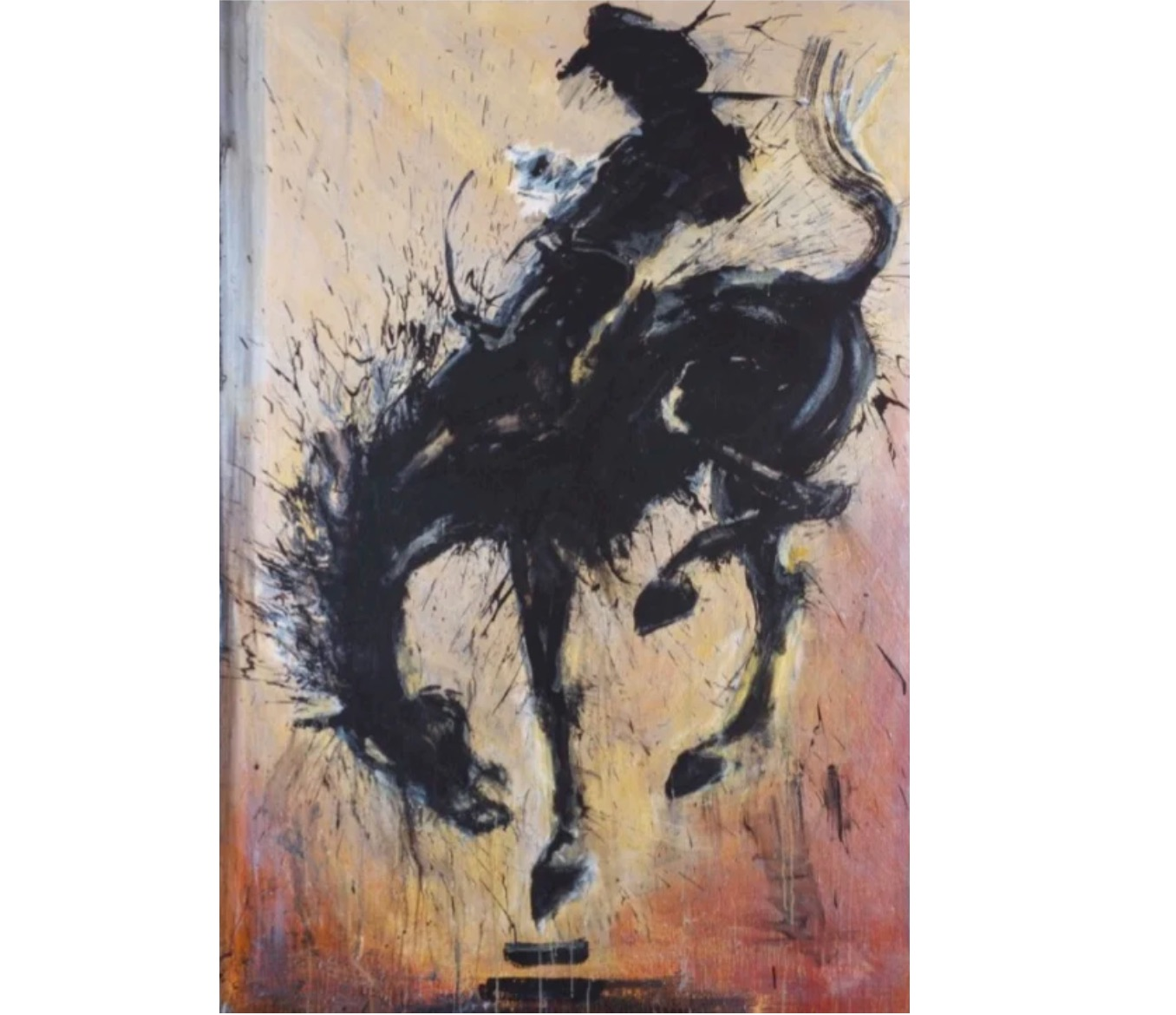 Horse and Rider, 2015 by Richard Hambleton_1
