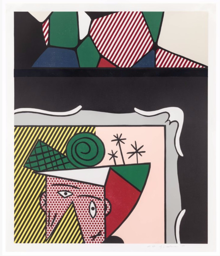 Two Paintings by Roy Lichtenstein