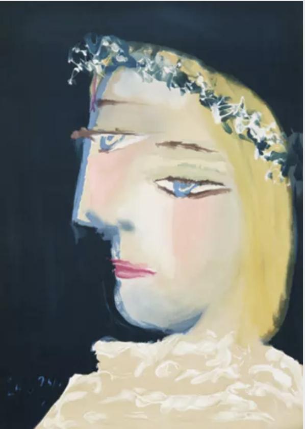 Femme à la Robe by Pablo Picasso