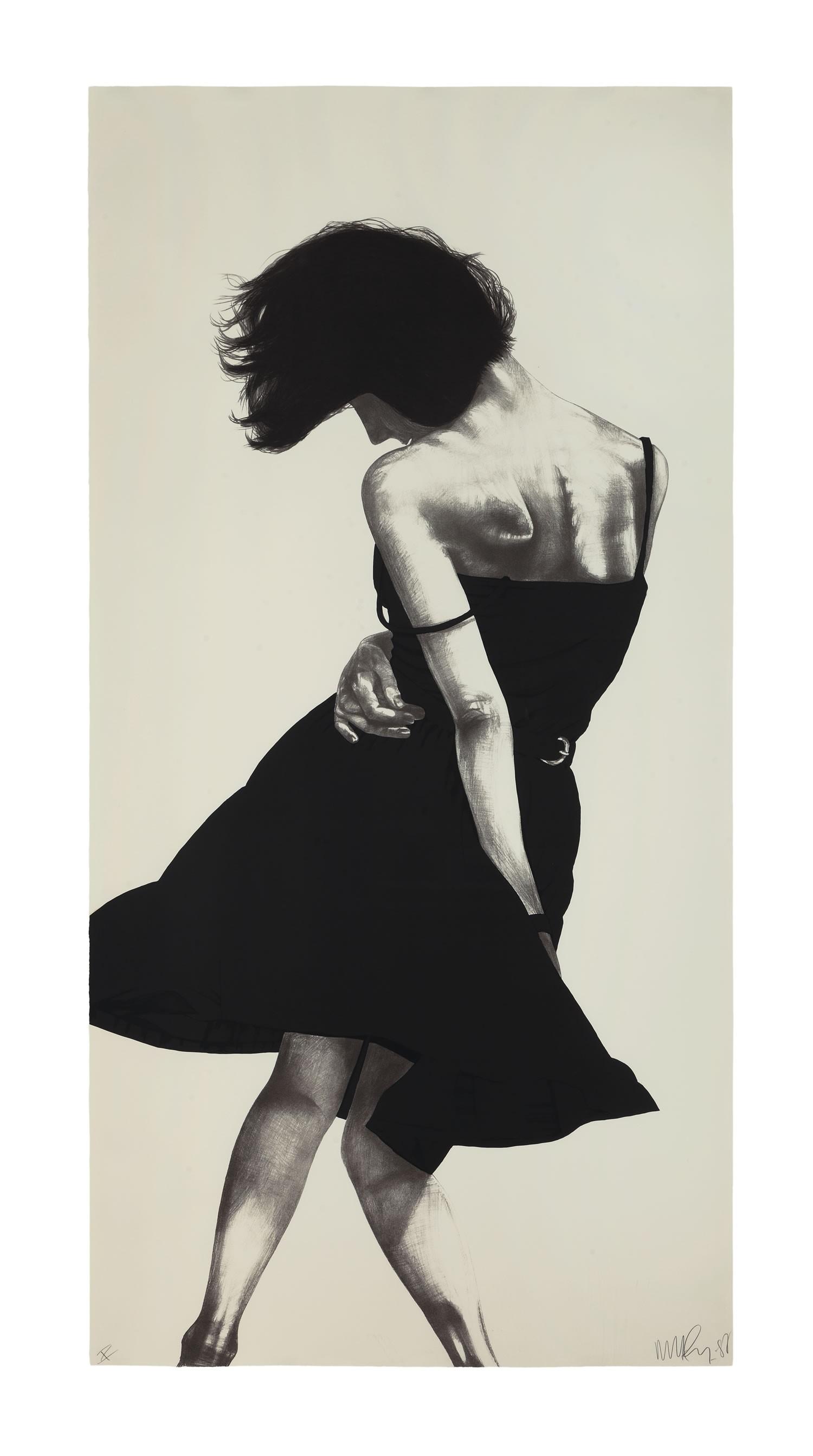 Meryl,1988 by Robert Longo