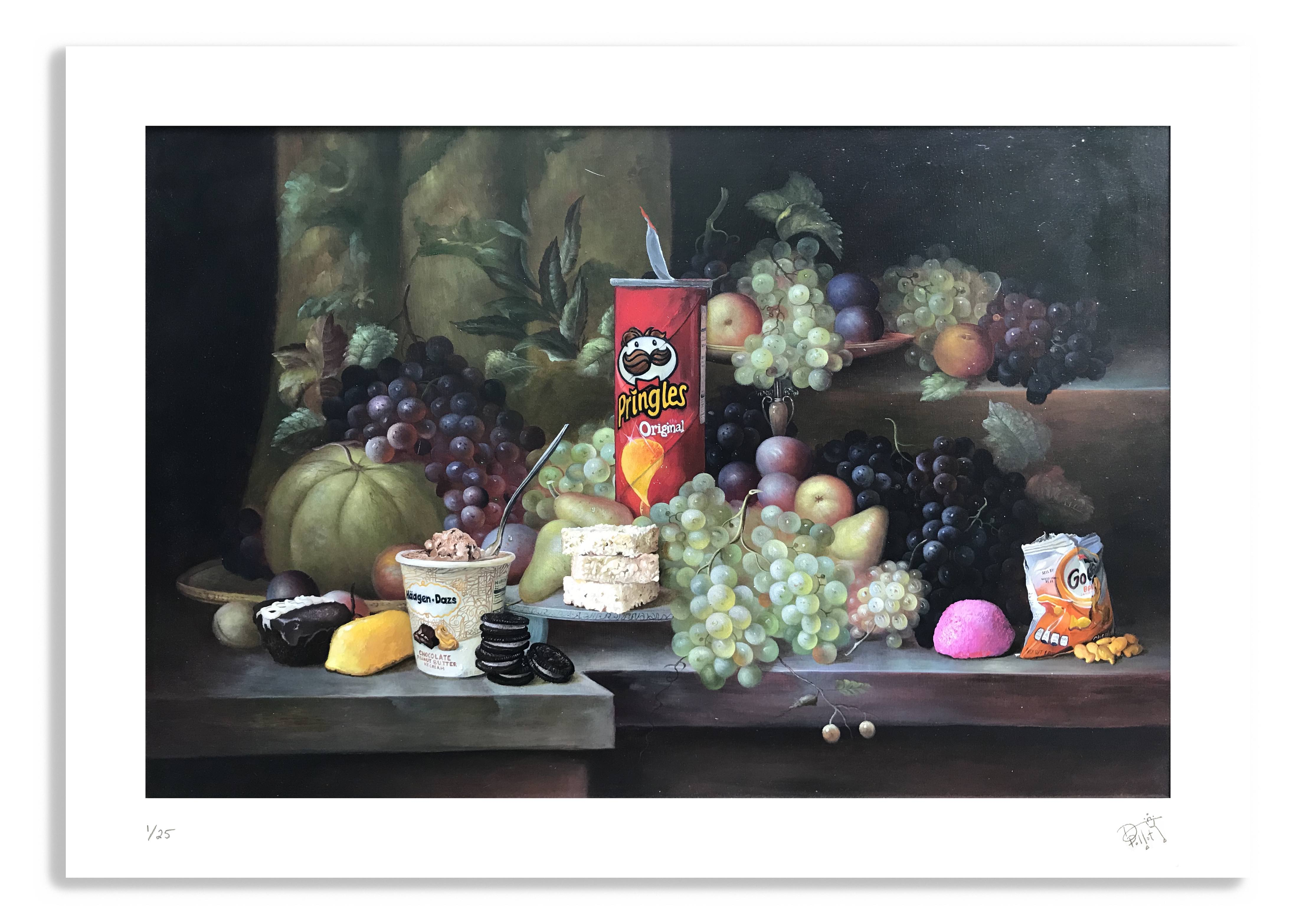 Calorie Composition II (Print) by Dave Pollot