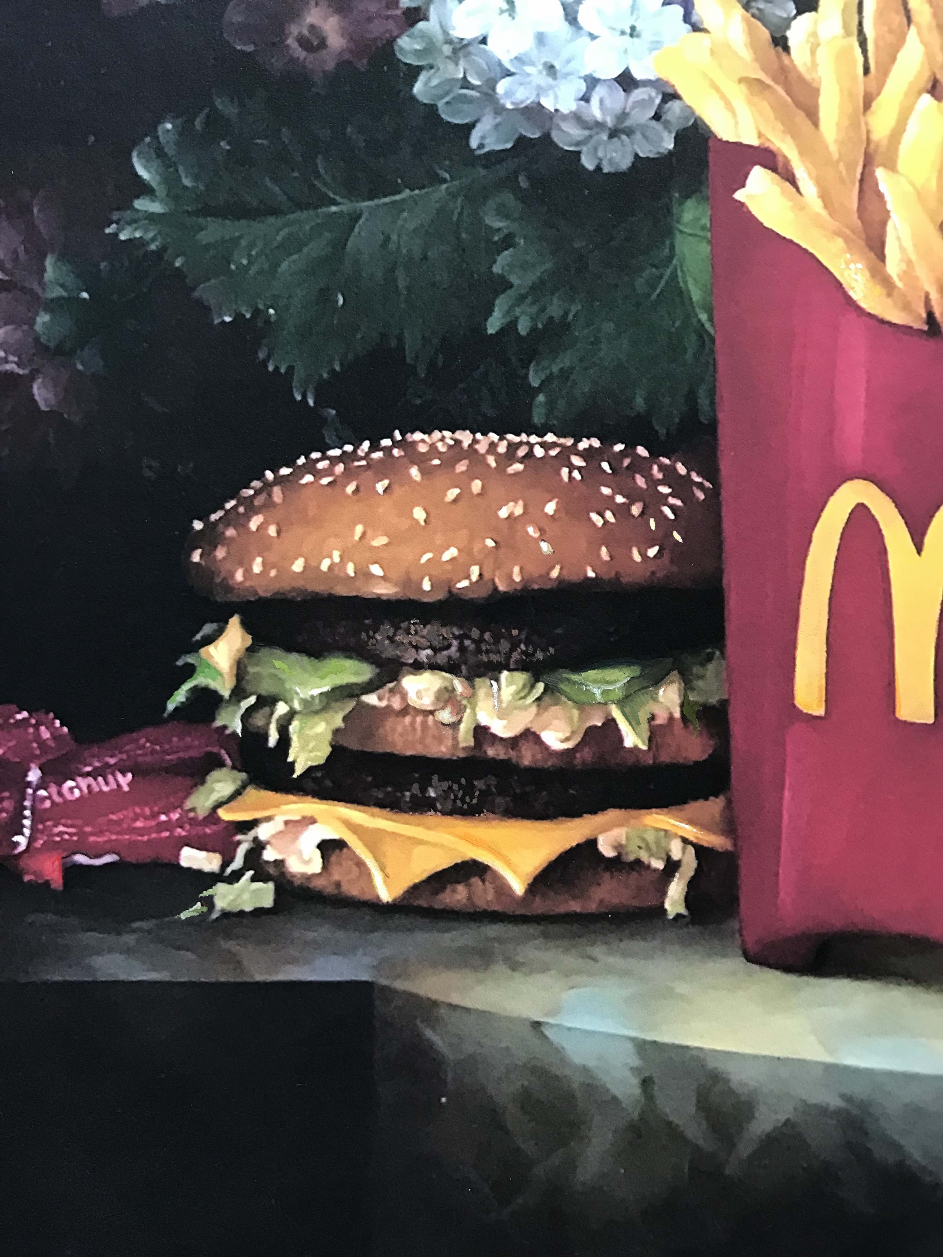Calorie Composition I with Extra Pickles, Sweet and Sour Sauce by Dave Pollot (Detail 1)
