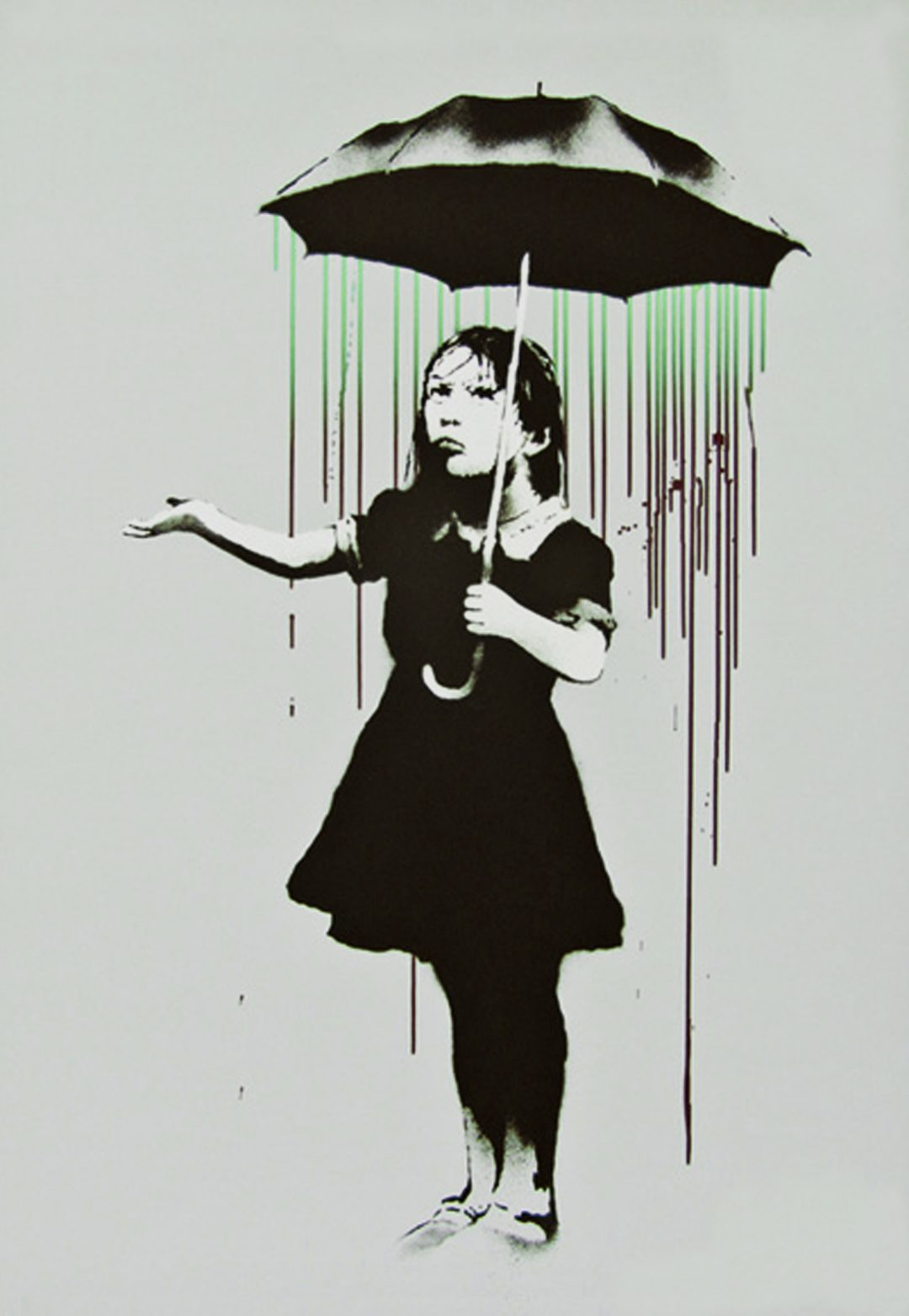 Nola (Green/Burgundy) by Banksy