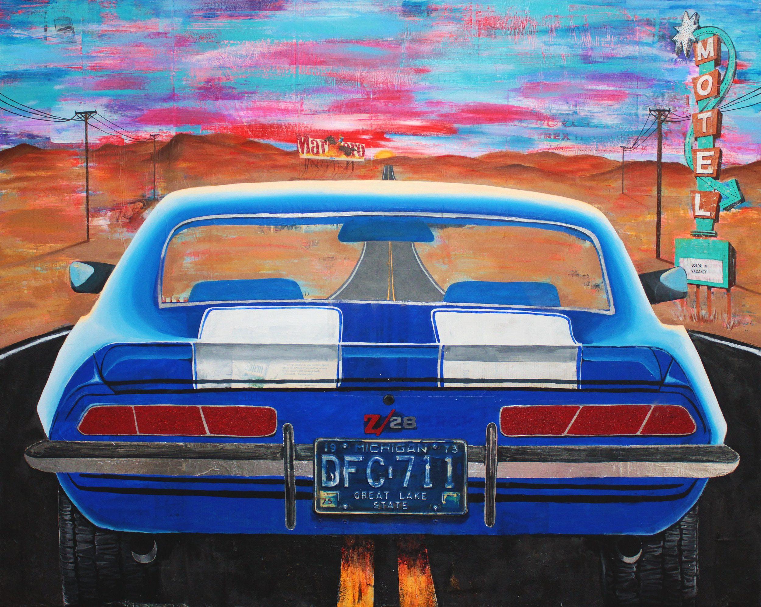Ghostride (Desert) by Jojo Anavim