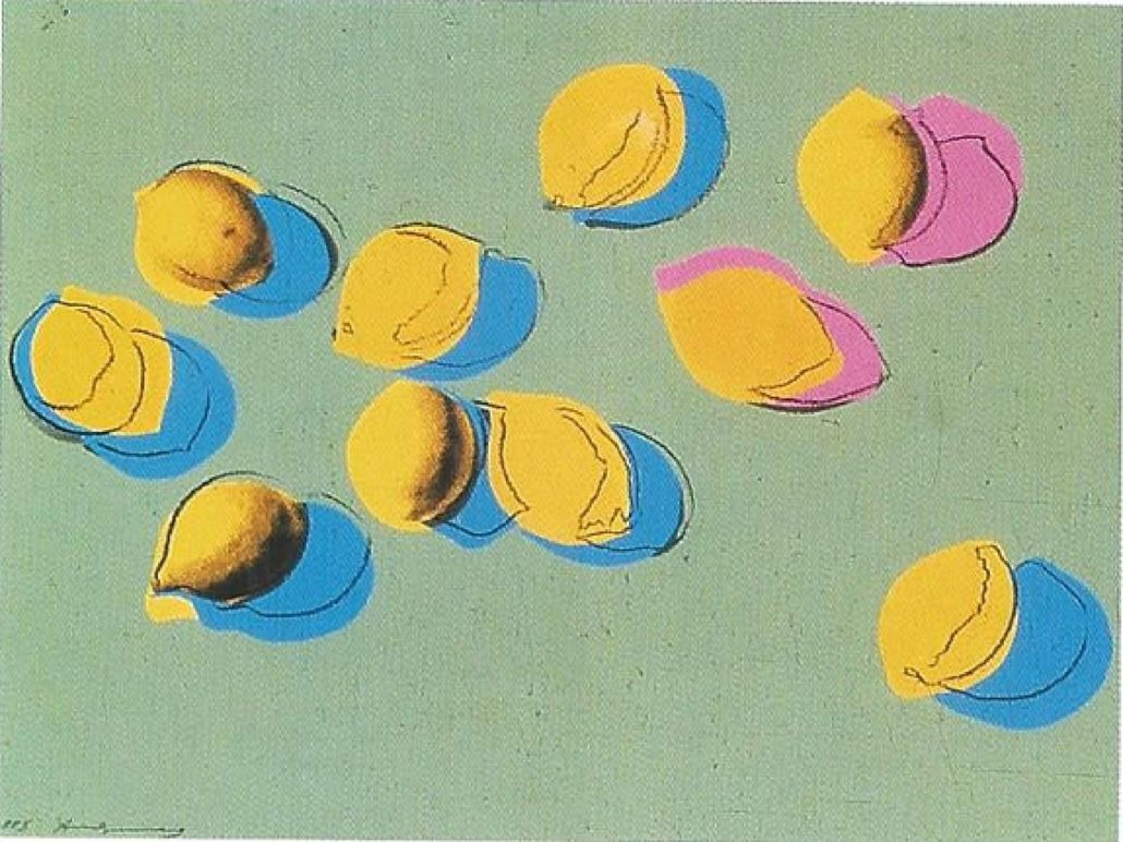 Space Fruit – Lemons 1978 by Andy Warhol