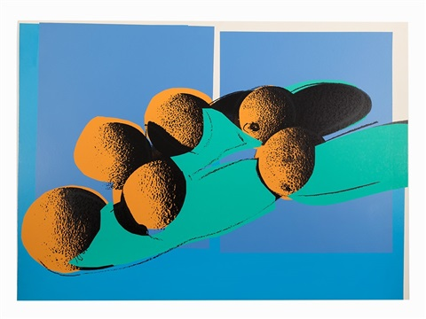 Space Fruits – Cantaloupes I 1979 by Andy Warhol